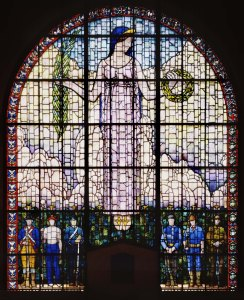Grant Wood, Veterans Memorial Window, 1929.