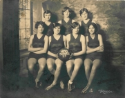 Girls basketball team, Northwest Davenport Turner Society, Davenport, 1929. For more information on the Turner movement in the United States, visit American Turners Local Societies, 1866-2006 at the Ruth Lilly Special Collections and Archives at Indiana University. Image courtesy of the German American Heritage Center, Davenport, Iowa.